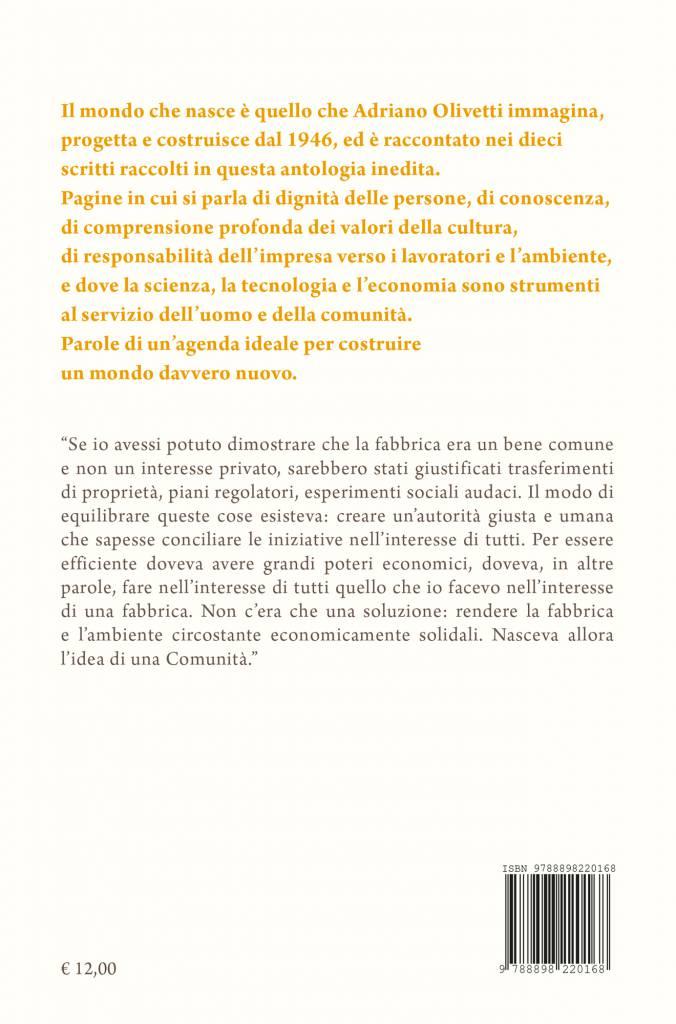 Quarta – Il mondo che nasce – Adriano Olivetti (a cura di Alberto Saibene)
