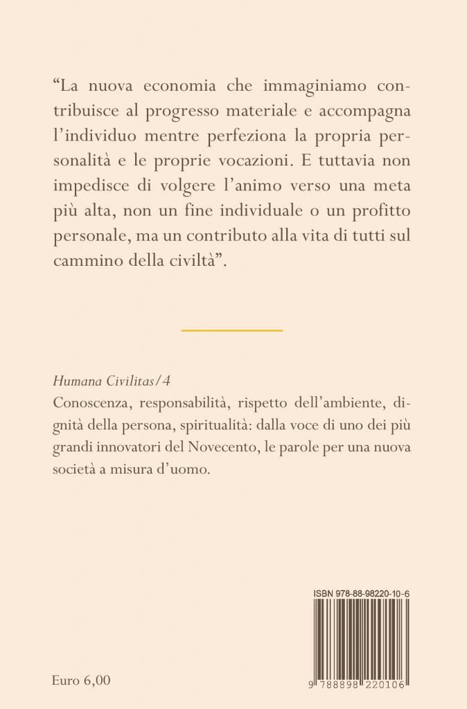 Quarta – Le fabbriche di bene – Adriano Olivetti
