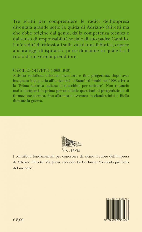 Quarta – Tre scritti sulla fabbrica, la formazione e la solidarietà - Camillo Olivetti