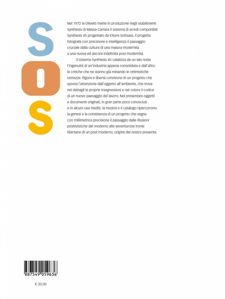Quarta – Sottsass Olivetti Synthesis Sistema 45 – Enrico Morteo, Alberto Saibene, Marco Meneguzzo, Milco Carboni, Paolo Brenzini, Riccardo Quasso