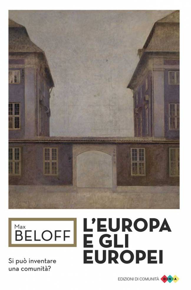 L'Europa e gli europei - Max Beloff - copertina